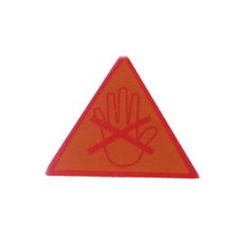 DrySyn Heat Safety Sticker
