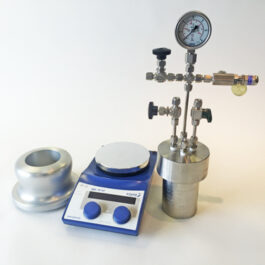 Custom high pressure single reactor from Asynt chemistry