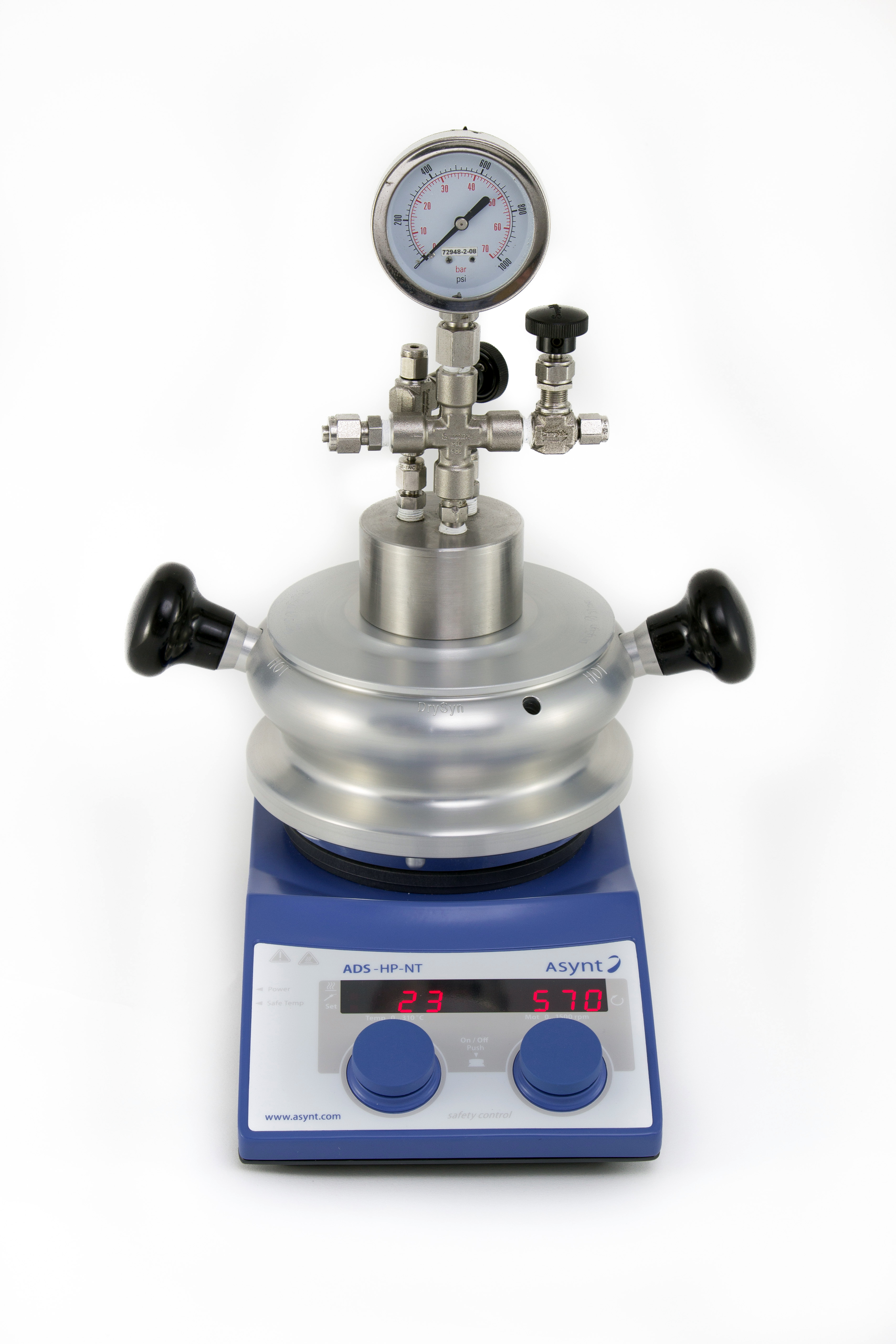 custom high pressure laboratory reactor