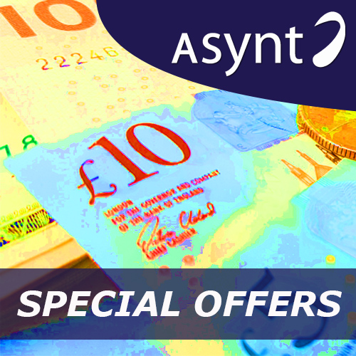 Link to current special offers on lab apparatus from Asynt