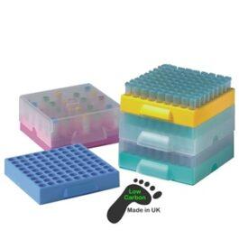 Asynt lab racks - 81 place Maxicold freezer racks