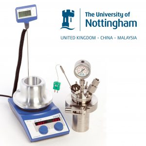 PressureSyn high pressure safety reactor with University of Nottingham