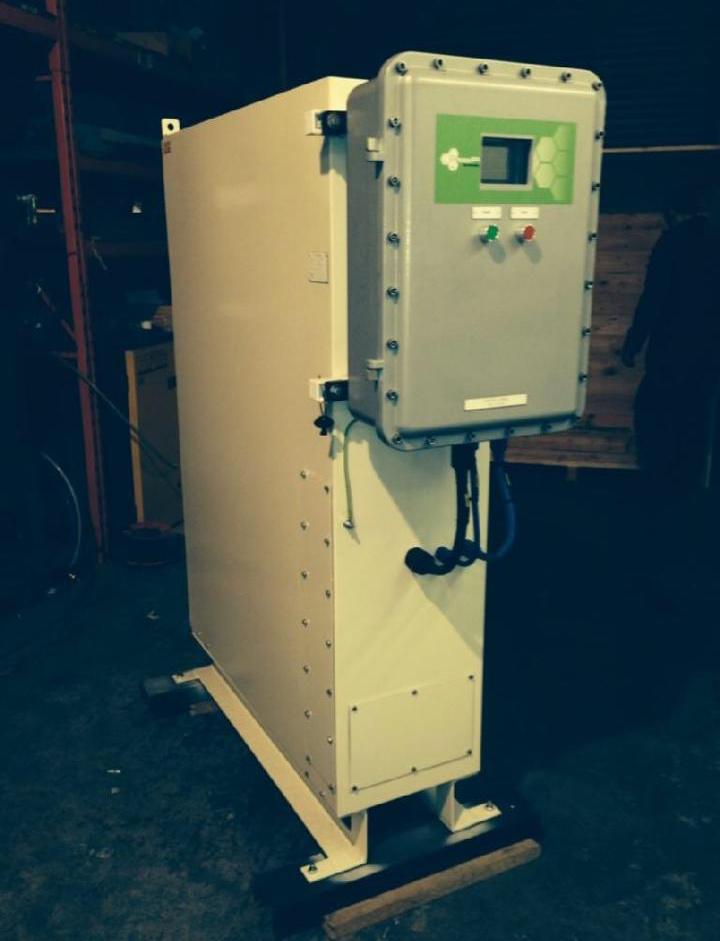 Liquid nitrogen generator in situ from Asynt