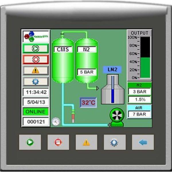 liquid nitrogen generator screen
