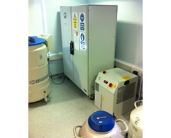 liquid nitrogen generator installation from Asynt
