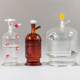 ReactoMate CLR system laboratory reaction vessels