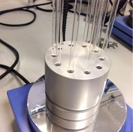 DrySyn NMR block and tubes