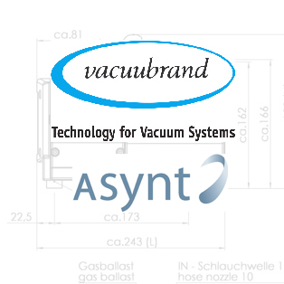 Asynt is a UK authorised service partner for Vacuubrand