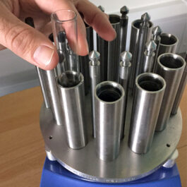 Replacement or spare glass vials for Multicell reactor