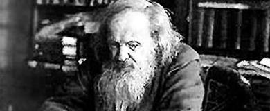 Dmitri Mendeleyev periodic tab;e