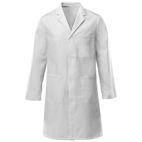 stud fastening lab coat asynt