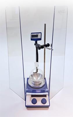 large laboratory safety shield