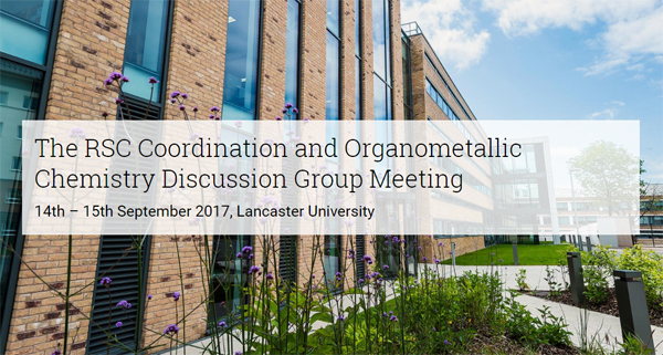 RSC Coordination and Organometallic Chemistry Discussion Group