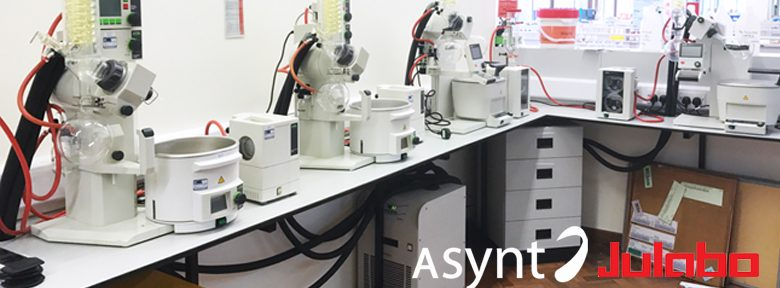 Asynt and Julabo laboratory coolers