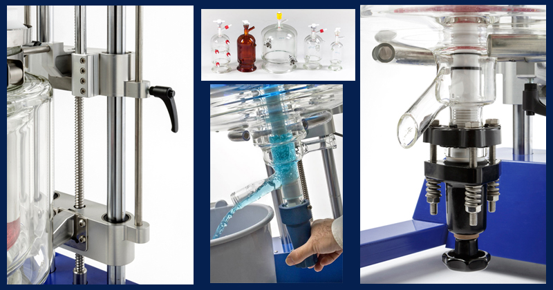 Asyntise your lab - ReactoMate ATOM stand