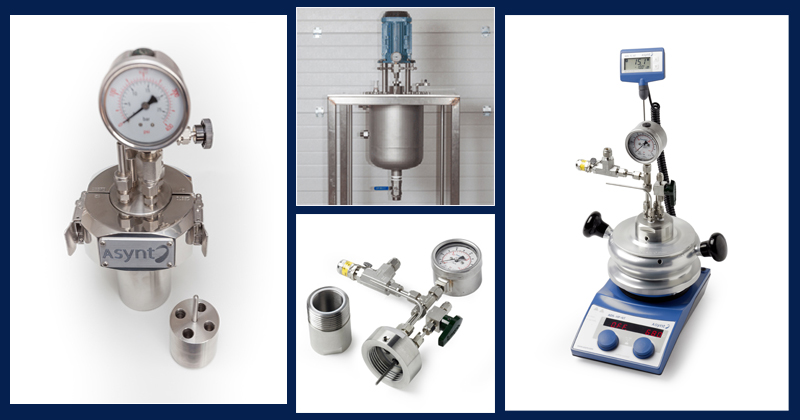 Asyntise - custom reactors - pressure reactors