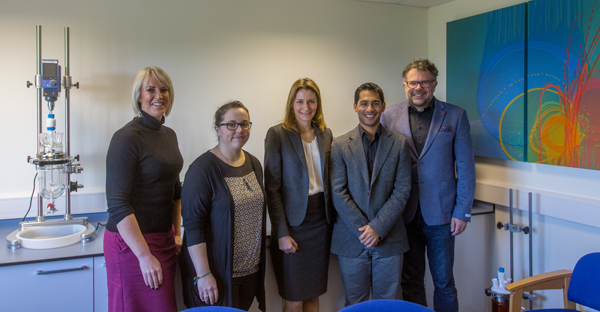 Lucy Frazer, QC, visits Asynt HQ October 2017