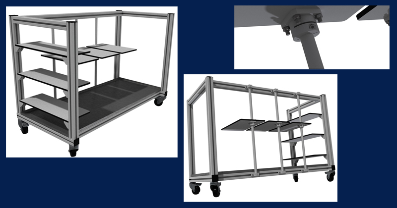 Bespoke Solutions CAD Drawings for Reactor Rig
