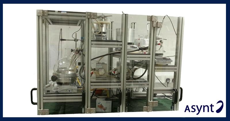 Bespoke Solutions - Mesoscale segmented flow reactor