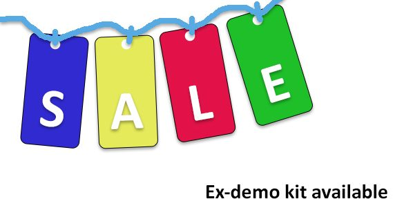 Ex demo kit sale 2018