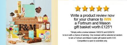 Select Science Fortnum and Mason giveaway