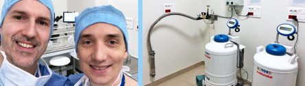 Dr Xavier Pollet-Villard and Dr Cyril Putin Co-founders of the nataliance IvF center