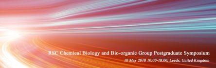 RSC Chemical Biology and Bio-organic Group Postgraduate Symposium