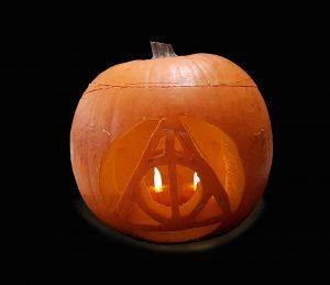 Asynt chemistry Deathly Hallows Pumpkin