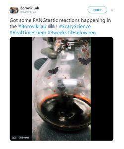 Asynt Halloween Tweet