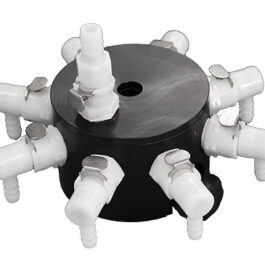 Huber Octagon 8 Port manifold