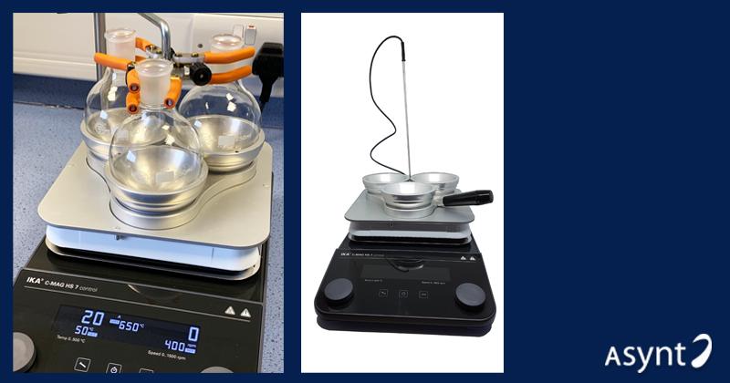 Bespoke Solutions - High Temperature DrySyn Adapter