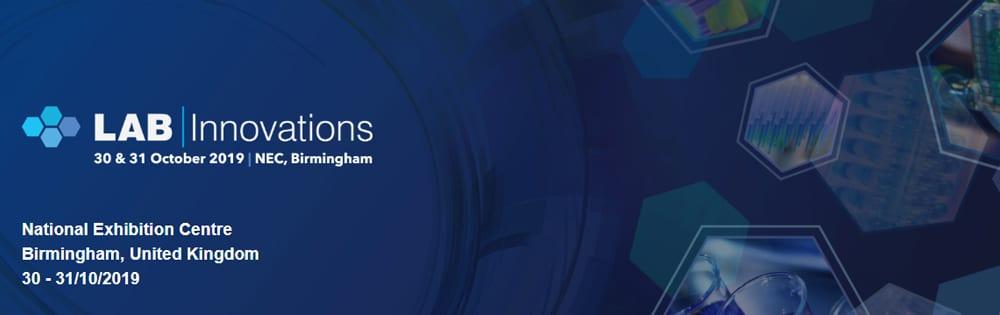 Lab Innovations 30-31 October 2019 Birmingham NEC, UK