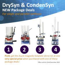 Asynt package deals for DrySyn and CondenSyn
