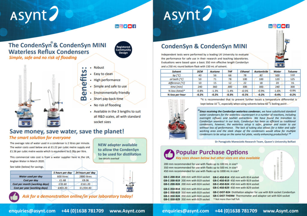 CondenSyn overview
