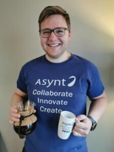 International Coffee Day 2020 Dr Mike Kenny of Asynt chemistry