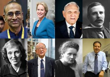 Previous Nobel Prize winners