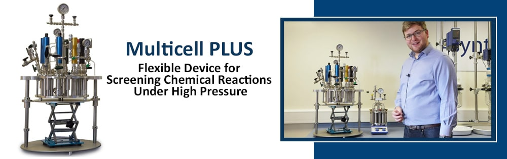 NEW Multicell PLUS parallel high pressure laboratory reactor from Asynt chemistry