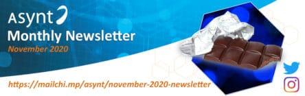 Asynt monthly chemistry newsletter November 2020 edition