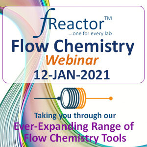 Asynt fReactor flow chemistry webinar 12 January 2021