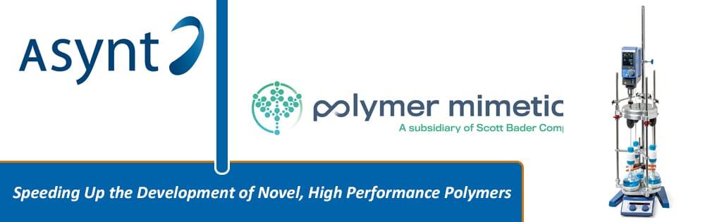 PR114 Polymer Mimetics with DrySyn Vortex website image