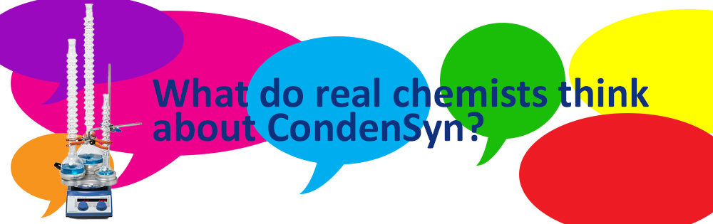 CondenSyn evaluations from real chemists