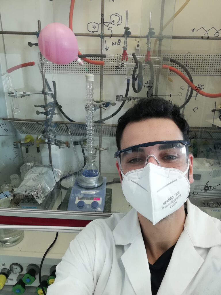 Scientist from the Maulide Group, University of Vienna