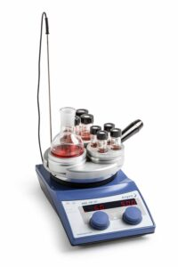 Maximise stirring with the DrySyn MULTI range of oil-free dry lab heating blocks from Asynt