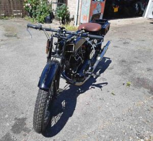 Sunbeam classic motorcycle