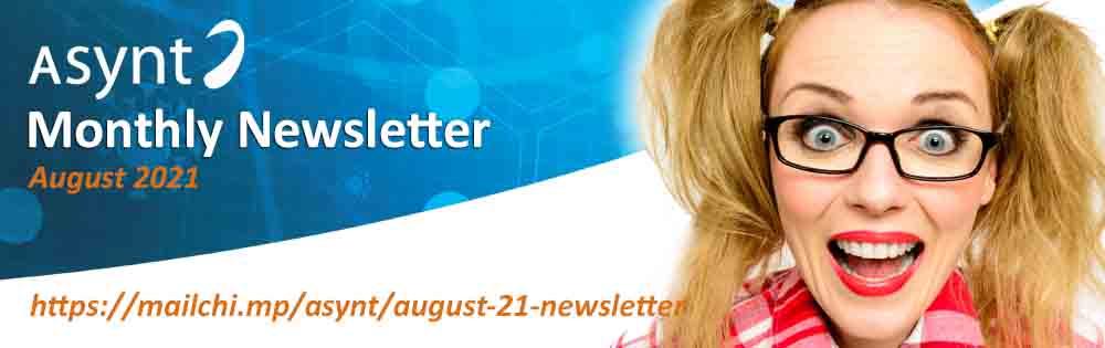 Asynt August 2021 Newsletter