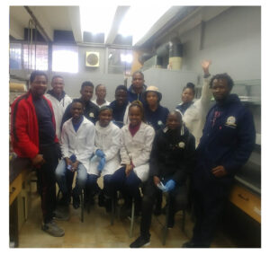 Dr Tlabo Leboho & the research team at University of Limpopo, South Africa