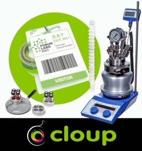 Find CLOUP at Forum Labo 2021 with all your favourite Asynt laboratory tools